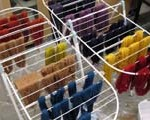 Dyed Skeins from Linda Hartshorne's Workshop